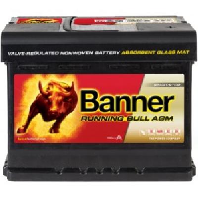 Banner 56001 60Ah AGM R+