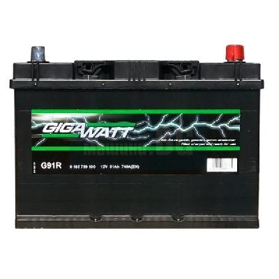 Gigawatt 91 Ah JIS R+