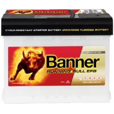 Banner 56011 60Ah EFB R+