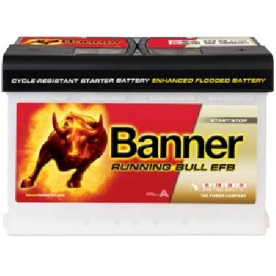 Banner 58011 80Ah EFB R+